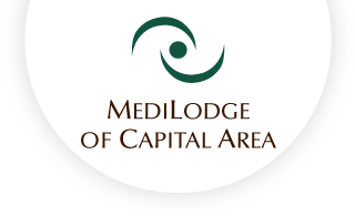 Medilodge of capital area web logo